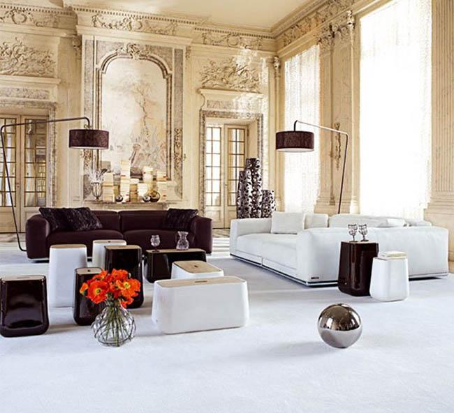 Arredamento misto arredamento moderno misto a classico for Arredamento moderno casa