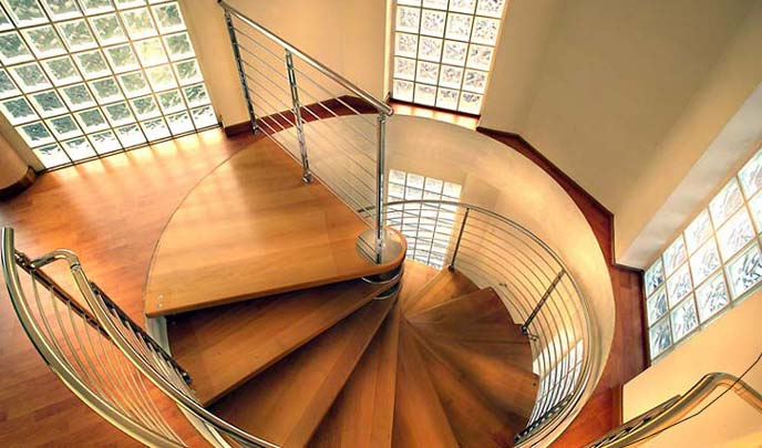 Scale da interni scale a chiocciola a rampa retrattili for Tipi di arredamento