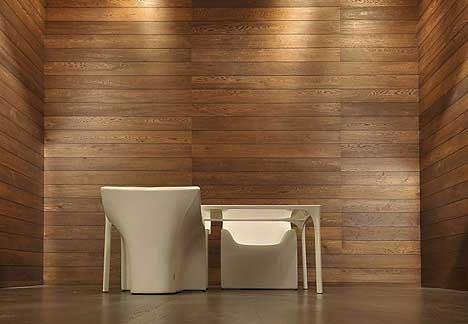 Rivestire le pareti in legno