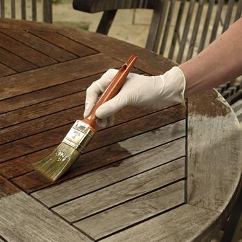 Restaurare mobili da giardino for Mobile giardino legno
