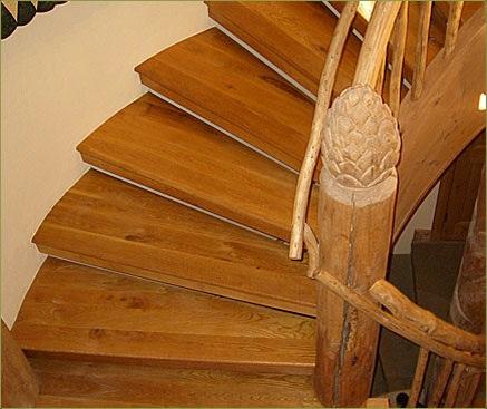 Scale in legno for Scala a chiocciola bricoman