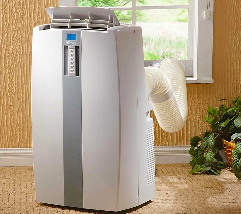 Climatizzatori portatili senza unit esterna e a due unit - Condizionatore unita esterna piccola ...