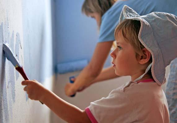 Vernici atossiche dipingere la cameretta dei bambini - Dipingere la cameretta dei bambini ...