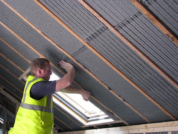 Coibentare il soffitto - Isolare tetto dall interno ...