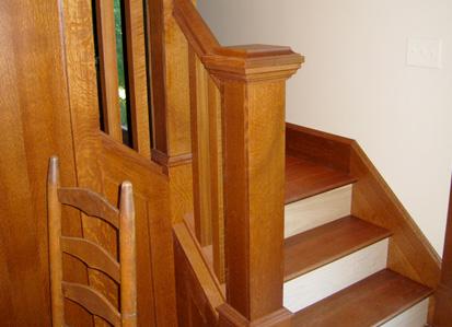 Restaurare una scala di legno for Coprigradini per scale in legno